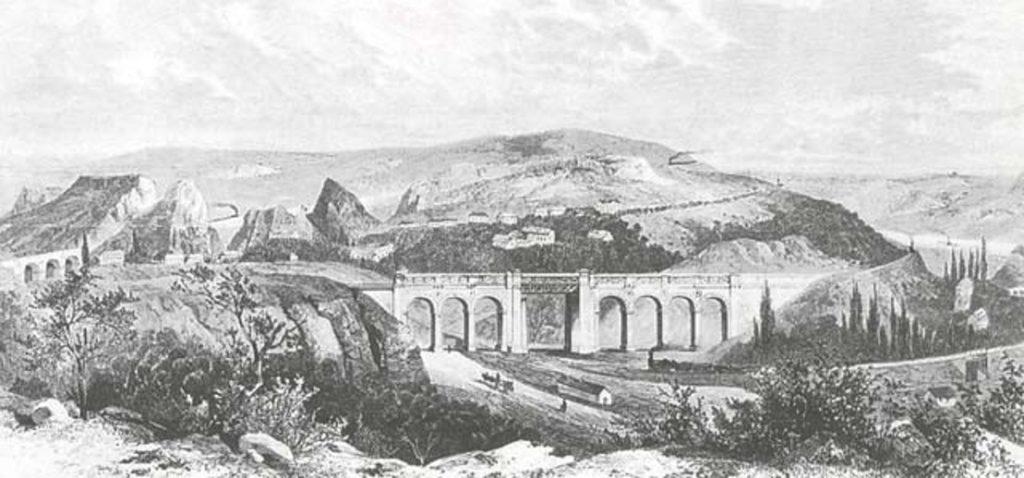 Prokopské údolí historické Semmering